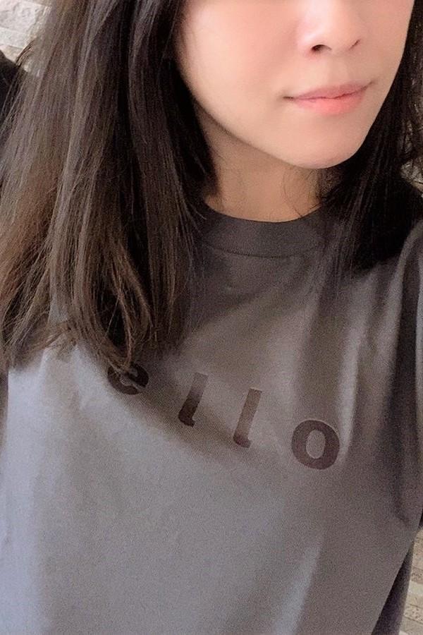 福島復興チャリティーHelloTシャツ黒